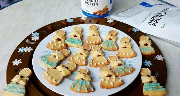 Gesunde Weihnachtskekse | Leckere Protein Nusskekse