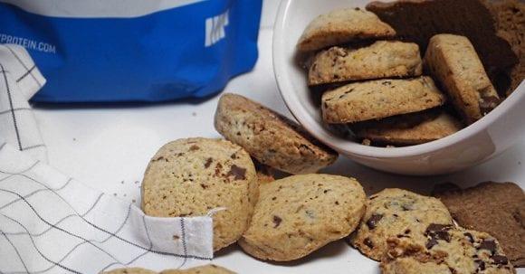 Gesunde Kekse ohne Zucker | Knuspriges Orangen Schokoladen Gebäck