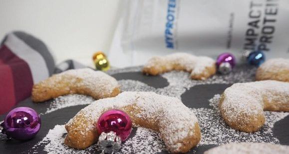 Vanillekipferl Rezept | Fettarme Version für schlanke Weihnachten!