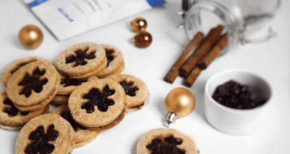 Zuckerfreie Kekse | Leichte Linzer Kringel
