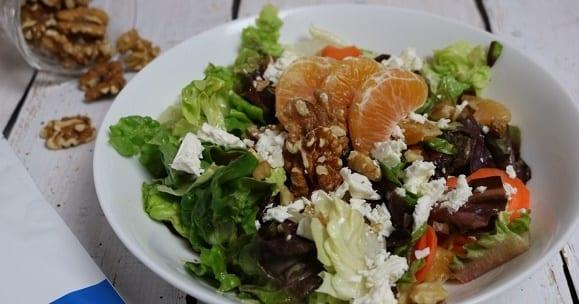 Rezept des Tages | Mandarinen Walnuss Salat
