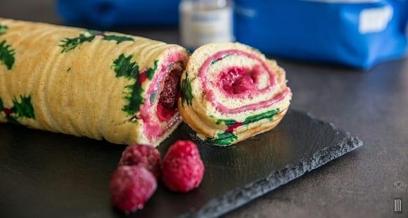 Weihnachtsdessert | Gesunde Pudding Biskuitrolle | High Protein