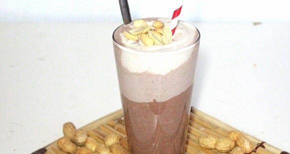 Gesundes Frühstück | Chocolate Penautbutter Protein Shake