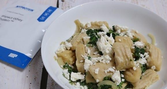 Fettarme Mahlzeit | Italienische Protein Gnocci