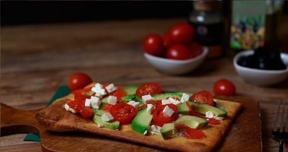 Pizza Rezept | Gesunde Avocado Pizza | Kreativ Kochen