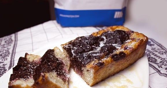 Rezept des Tages | Zuckerfreier Grieß Kokos-Schoko Kuchen