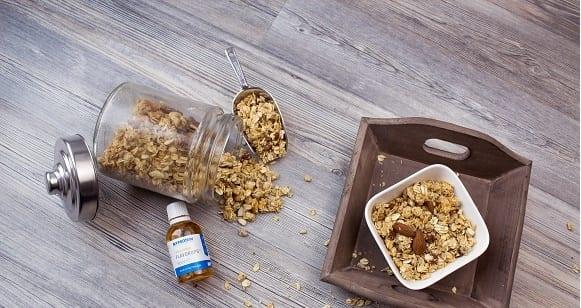 Gesundes Frühstück | Zuckerfreies, Selbstgemachtes Knuspermüsli