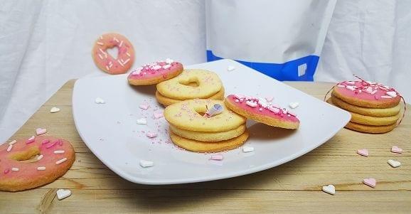 Valentinstag | Romantische Kekse mit Nachricht – Fettarm