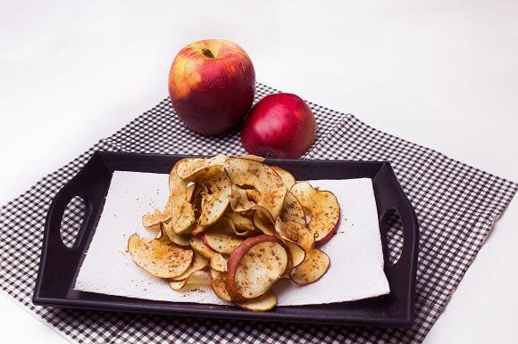 Fingerfood | Leckere Apfelchips aus dem Ofen