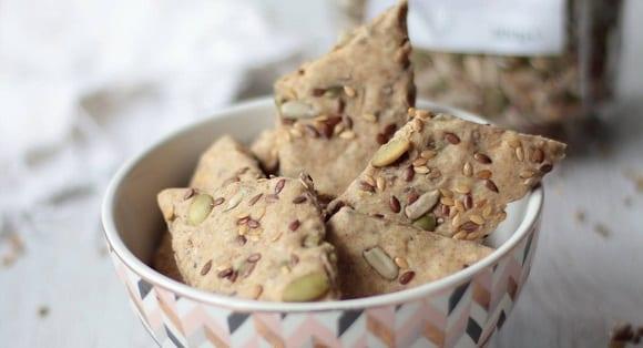 Nährstoffreiche Cracker |  Ballaststoffe, gesunde Fette & Eiweiß!