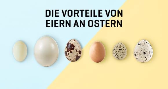 Die Vorteile von Eiern an Ostern
