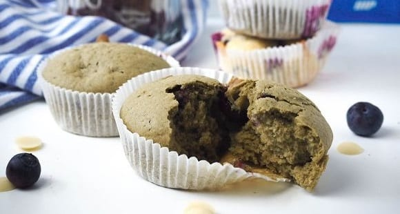 Süße Matcha Muffins | Saftig & Gesund