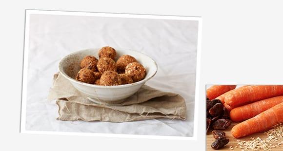 Protein Energy Balls | Karotten Kuchen Pralinen