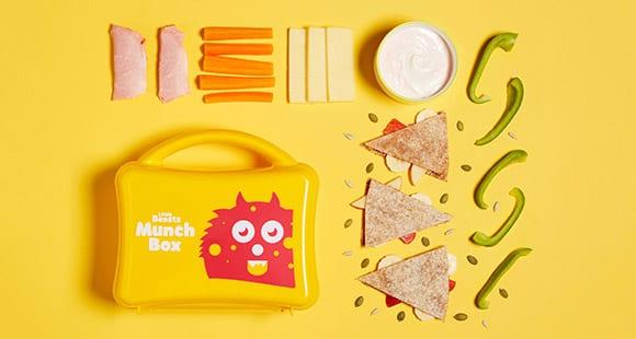 Süßer Wrap für die Brotzeitbox | KINDERGARTEN, SCHULE – Little Beast