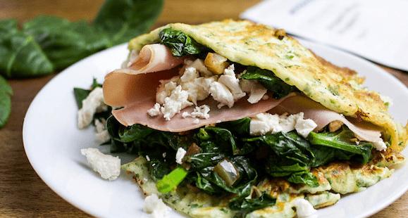 Protein Zucchini – Pfannkuchen | Gesundes Rezept
