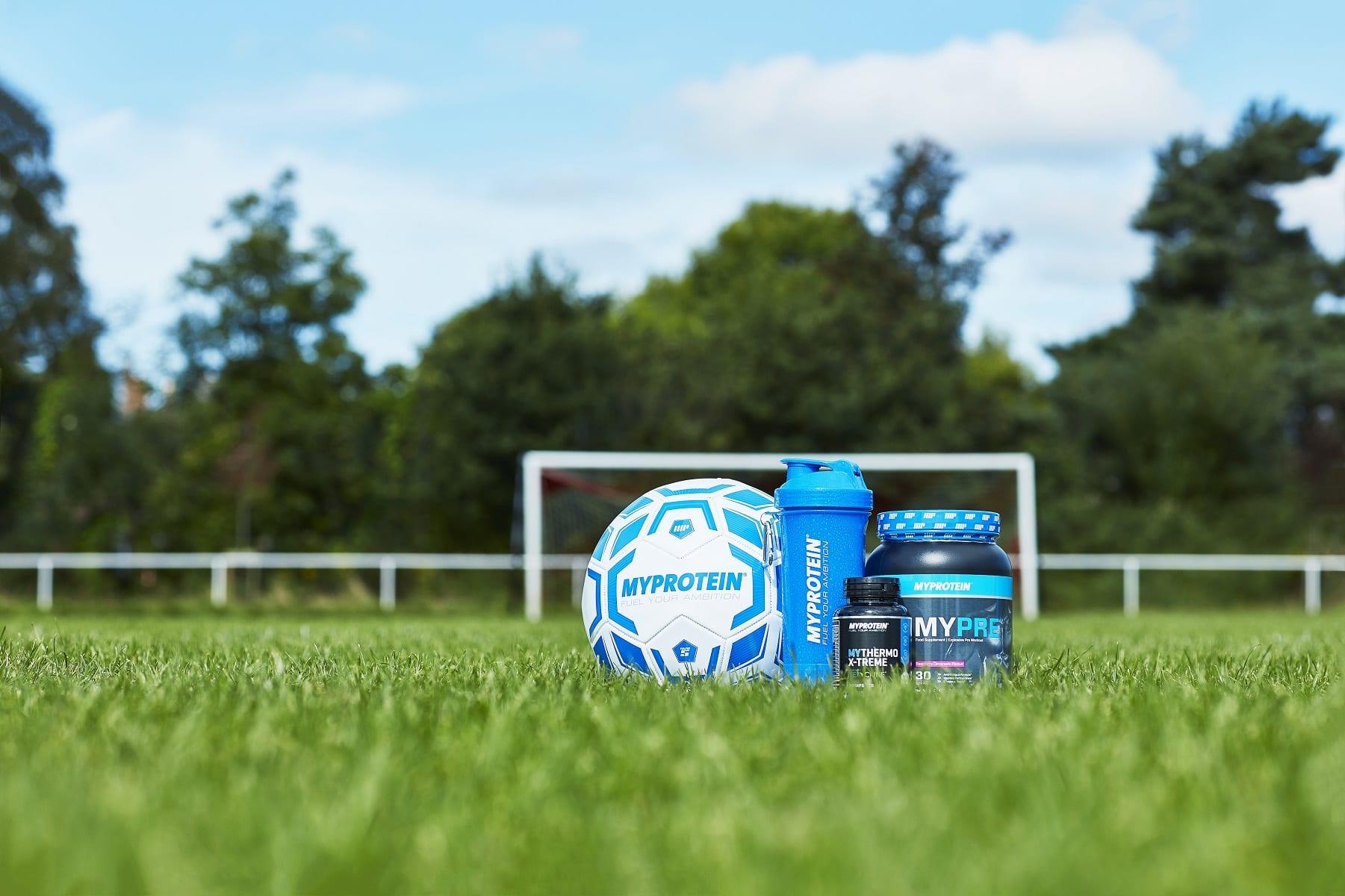 Fußball Zubehör und Supplemente von Myprotein