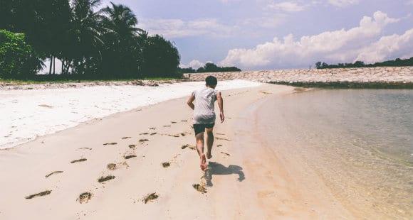 Laufen am Strand: Vorteile des Sands