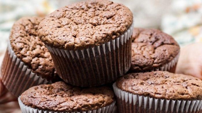 Schoko Protein Muffins