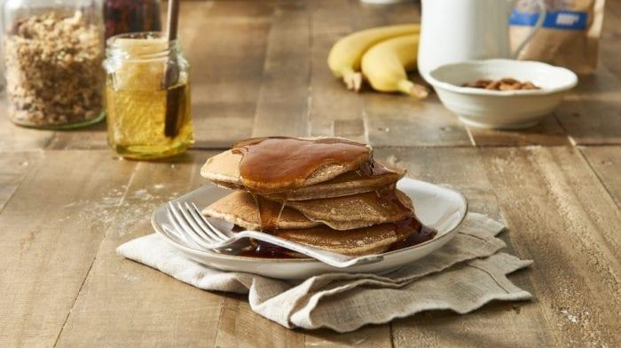 Maca Pancakes mit Bananen | Superfood Rezept