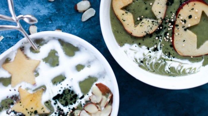 Chlorella Smoothie Dessert | Superfood Rezept