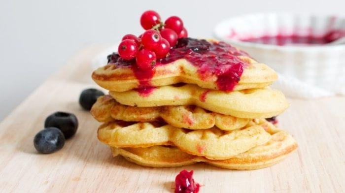 Schnelle Protein Waffeln | Gesunder Snack