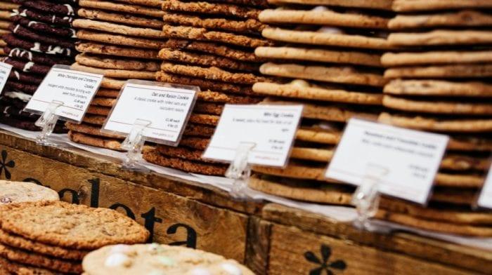 Erdnussbutter Protein Kekse mit Füllung | Cookie Rezept