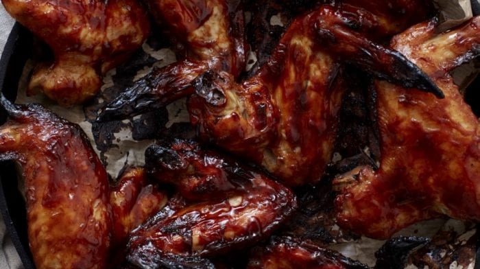 BBQ-Honig-Limetten Chicken Wings