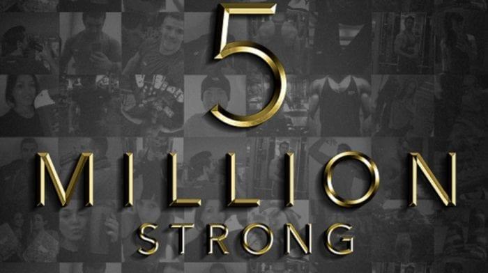 5 Millionen | Fitter mit jedem neuen Mitglied