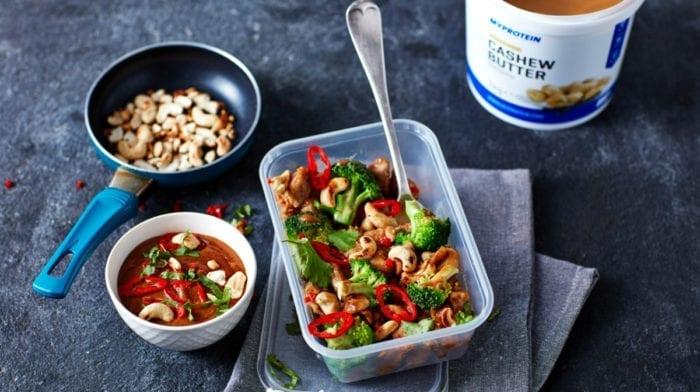 Hähnchen mit Cashewkernen | Meal Prep für 4 Tage