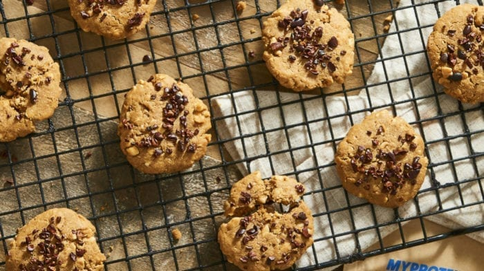 Erdnussbutter Kekse | 5 Zutaten und kein Mehl