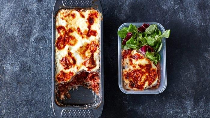 Kalorienarmes Lasagne  Rezept | Meal Prep für 3 Tage