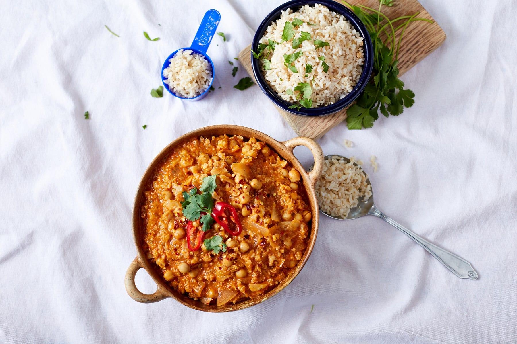 Veganes indisches Blumenkohl Curry