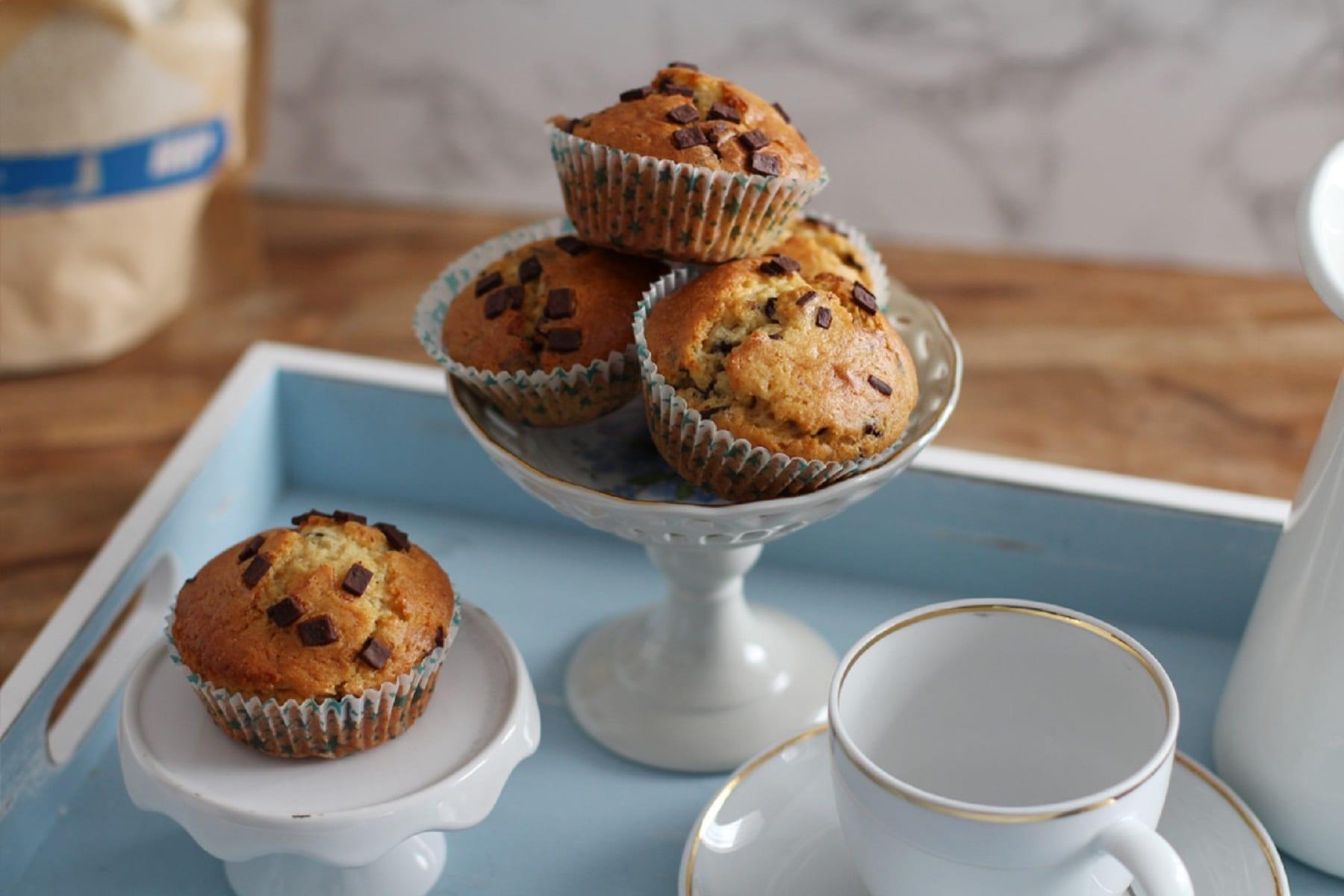 Teffmehl Muffins