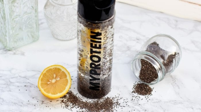 Infused Water: Chia Zitrone