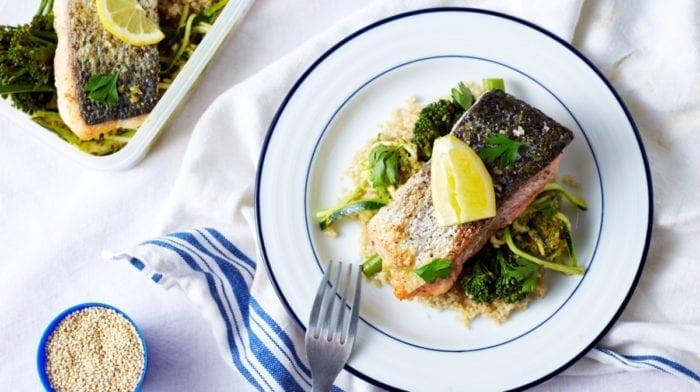 Cajun Lachs mit Gemüse | Meal Prep für 3 Tage