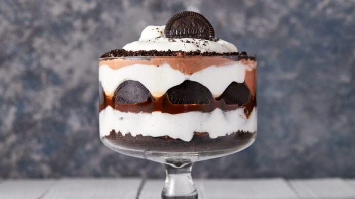 Protein Fluff Trifle | der Weihnachtsklassiker in gesund