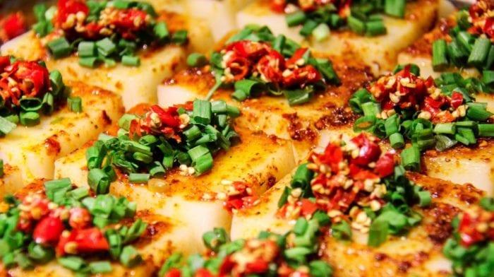 Gesunde Mahlzeit | Vegetarisches Tofu Curry