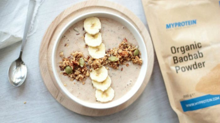 Erdnussbutter Smoothie Bowl