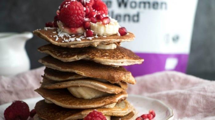 Super einfache Diät Protein Pancakes | Low Carb Frühstück