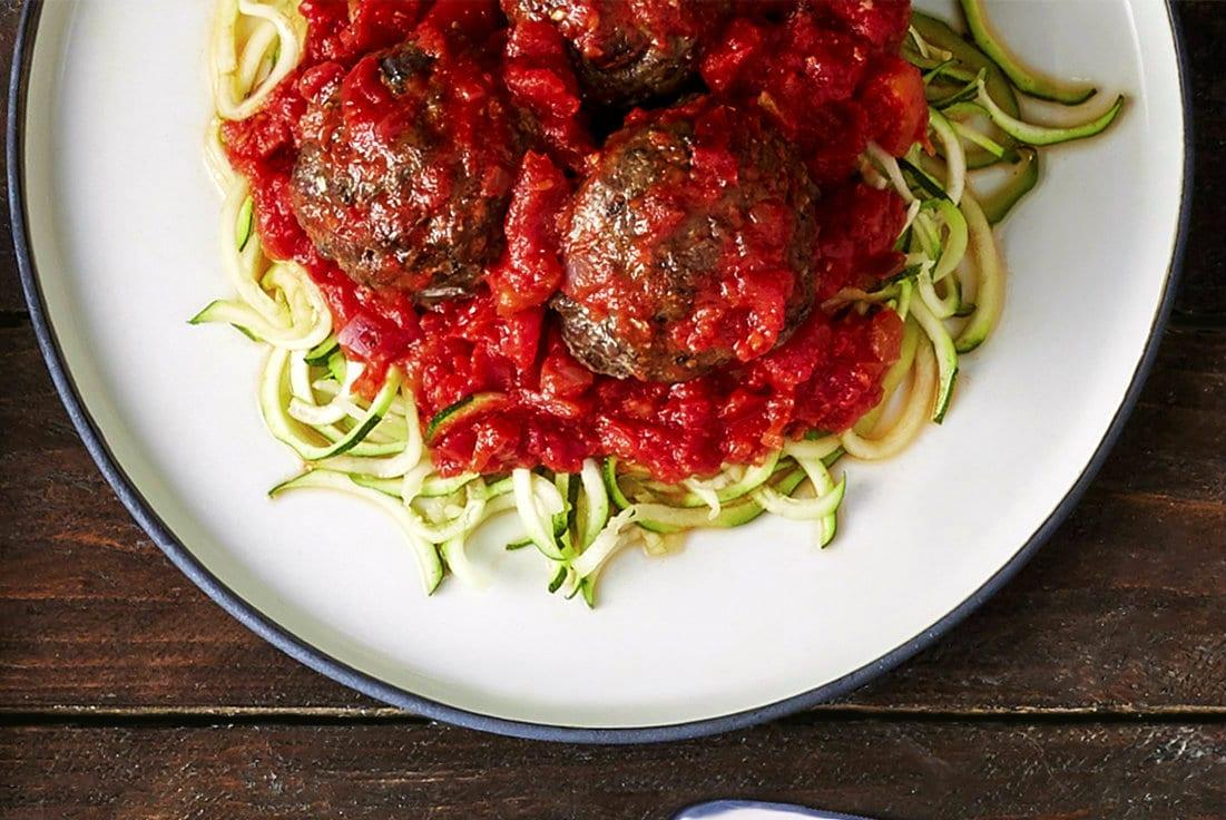 Meatball Pasta - Dinner für zwei