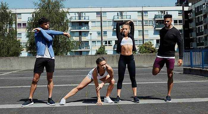 Das 10-Minuten Outdoor HIIT Workout