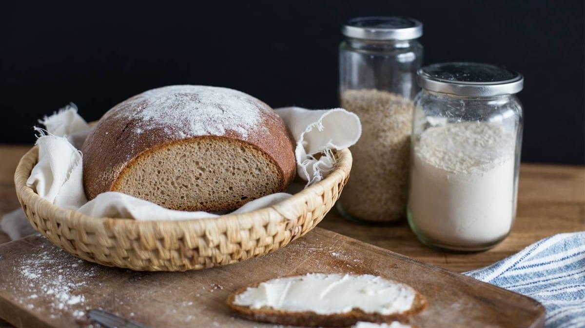 Hausgemachtes Bauernbrot - wie frisch vom Bäcker