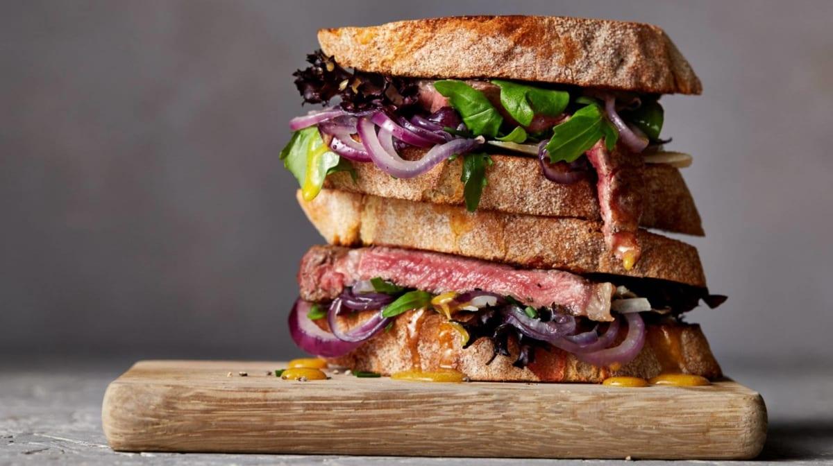 9 Gesunde Sandwich Rezepte    Belegte Brötchen Deluxe