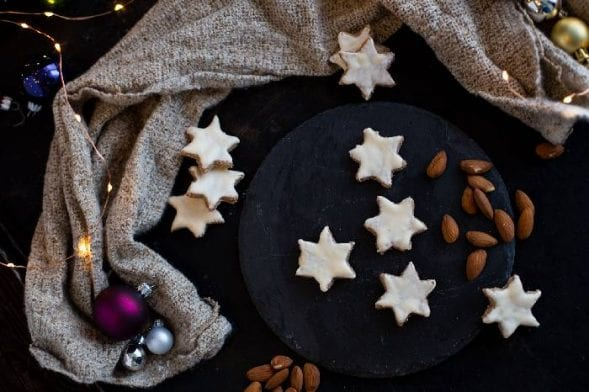 Gesunde Weihnachtskekse | Low Carb Zimtsterne