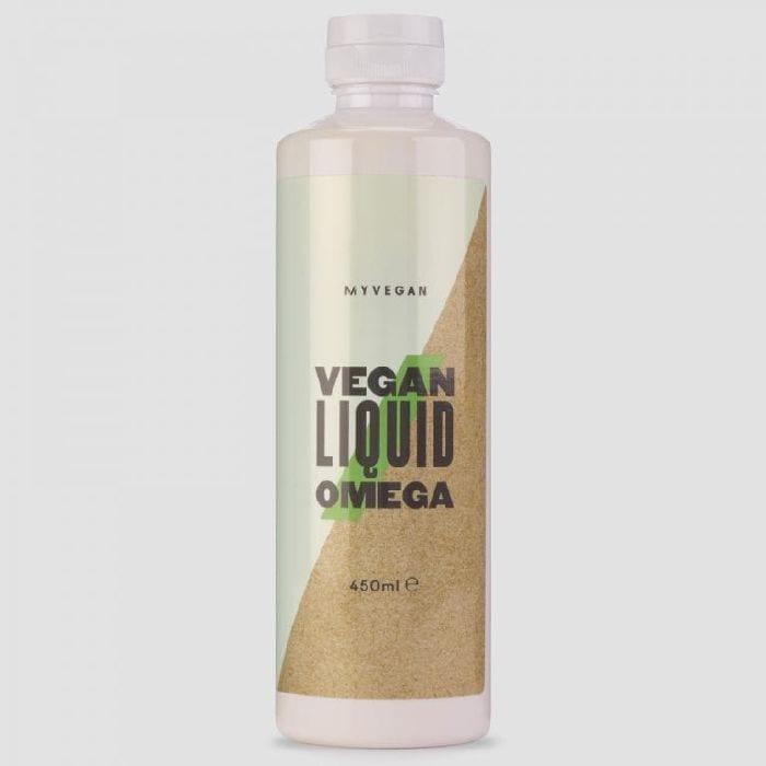 Vegan-friendly liquid omega 3
