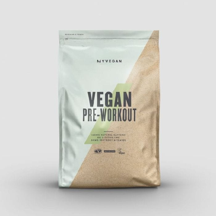 Vegan-Friendly Pre-Workout Powder Supplement