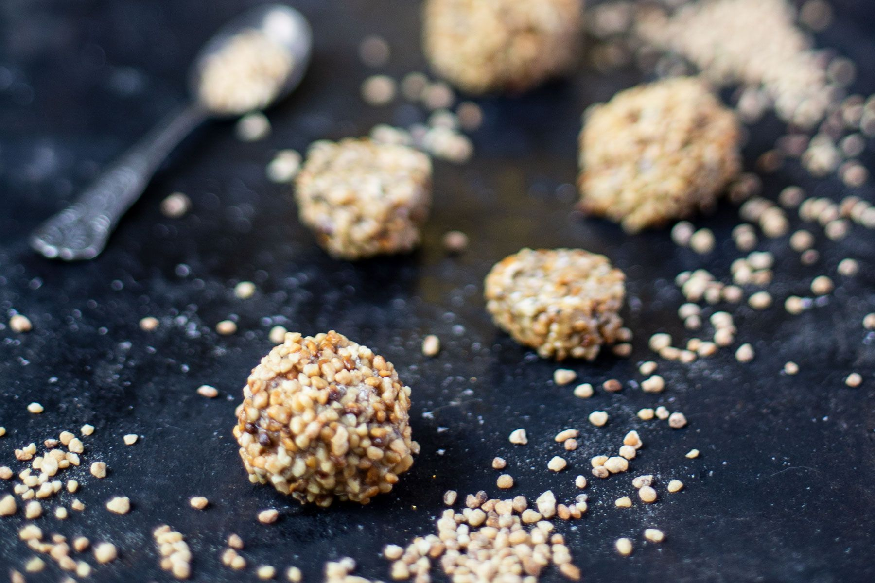 Haselnuss Protein Balls