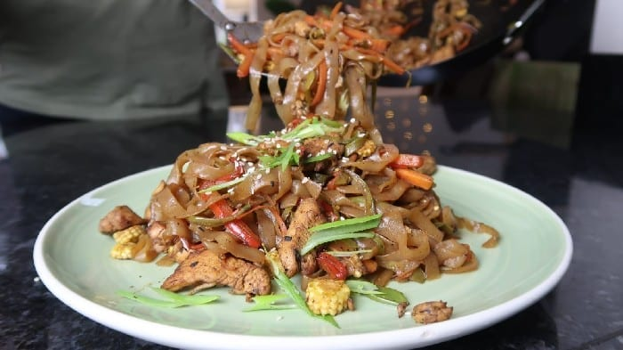 Low-Carb Chicken Chow Mein