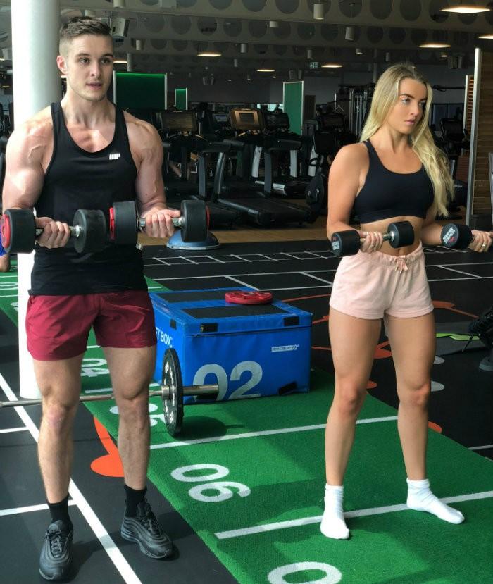 4 Gründe, wieso du als Fitness-Pärchen zusammen trainieren solltest