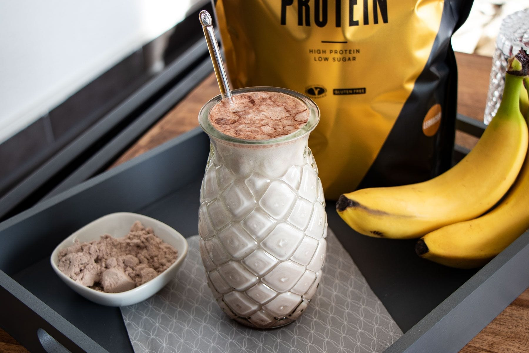 Lebkuchen Bananen Shake | Post-Workout Nutrition